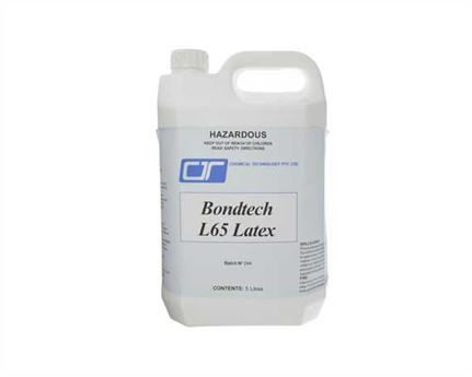 ADHESIVE BONDTECH L65 SOCKING LATEX 5 LITRE
