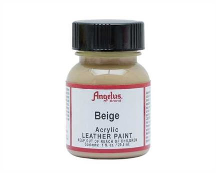 ANGELUS ACRYLIC PAINT BEIGE #070 29ML USE ON LEATHER, VINYL OR FABRIC