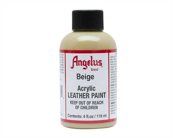 ANGELUS ACRYLIC PAINT BEIGE #070 118ML USE ON LEATHER, VINYL OR FABRIC