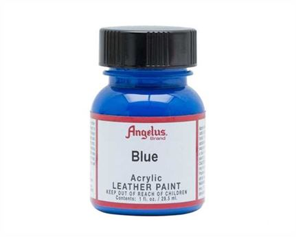 ANGELUS ACRYLIC PAINT BLUE #040 29ML USE ON LEATHER, VINYL OR FABRIC