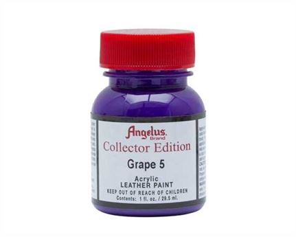 ANGELUS ACRYLIC CE PAINT GRAPE #337 29ML COLLECTORS EDITION