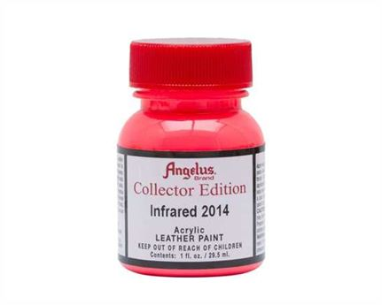 ANGELUS ACRYLIC CE PAINT INFRARED #2014 29ML COLLECTORS EDITION FOR LEATHER, VINYL, FABRIC