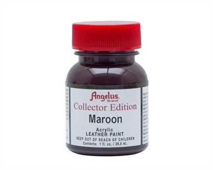 ANGELUS ACRYLIC CE PAINT 2 MAROON 29ML COLLECTORS EDITION