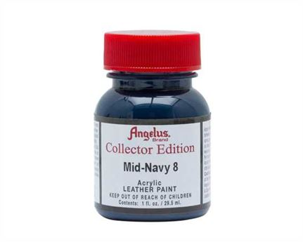 ANGELUS ACRYLIC CE PAINT MID NAVY #323 29ML COLLECTORS EDITION