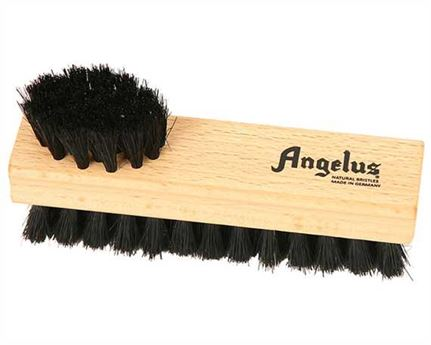 ANGELUS SHOE BRUSH DOUBLE SIDED MEDIUM BLACK