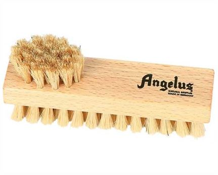 ANGELUS SHOE BRUSH DOUBLE SIDED MEDIUM NATURAL