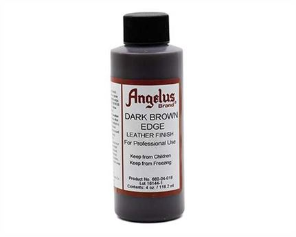 ANGELUS EDGE FINISH DARK BROWN #660 118ML