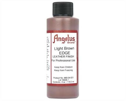ANGELUS EDGE FINISH LIGHT BROWN #660 118ML