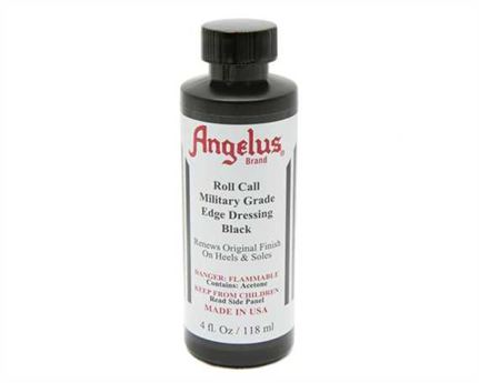 ANGELUS EDGE FINISH MILITARY GRADE BLACK #541 118ML