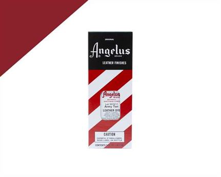 ANGELUS LEATHER DYE ARMY TAN #010 3OZ/88.72ML