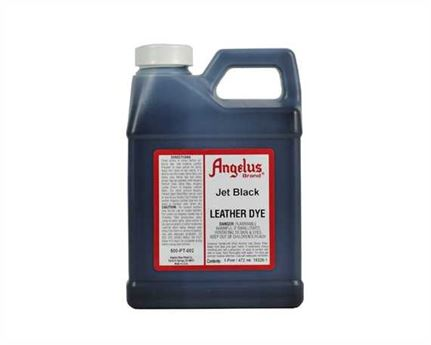 ANGELUS LEATHER DYE JET BLACK #002 (1 QRT) 946ML