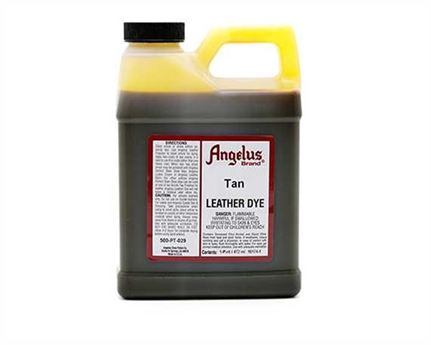 ANGELUS LEATHER DYE ENGLISH TAN #019 1 PINT/473ML