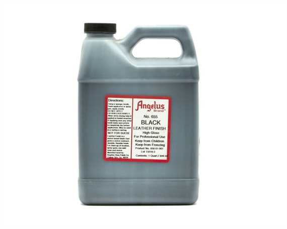 ANGELUS BLACK LEATHER FINISH 1 QUART (946ML)
