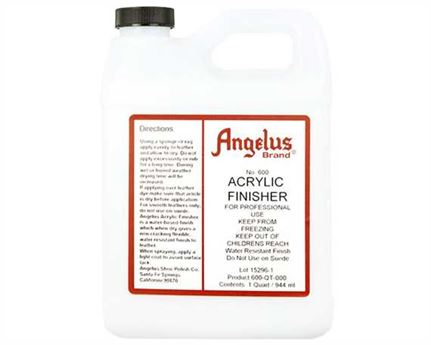 ANGELUS ACRYLIC FLEXIBLE CLEAR FINISH #600 (1 QRT) 946ML