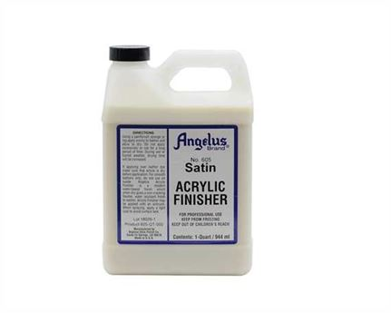ANGELUS ACRYLIC CLEAR FINISH SATIN #605 (1 QRT) 946ML