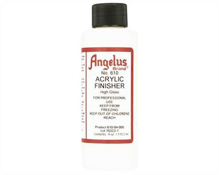 ANGELUS ACRYLIC CLEAR FINISH HI GLOSS #610 (4 OZ) 118ML