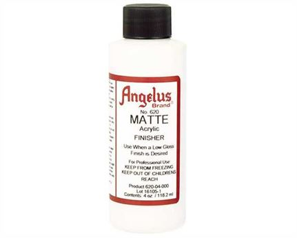 ANGELUS ACRYLIC CLEAR FINISH MATT #620, 4 OZ (118ML)