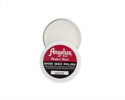 ANGELUS SHOE WAX 75GM WHITE