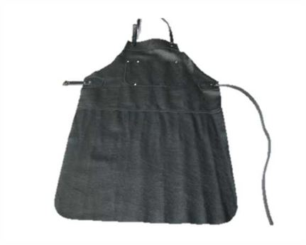 APRON BLACK LEATHER AUSTRALIAN MADE