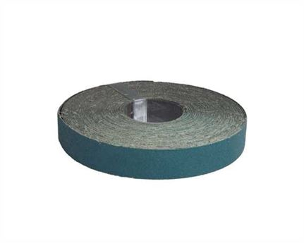 ABRASIVE ZIRCONIA FLAT 35MM P80 25 MT ROLL