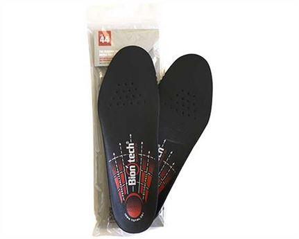 BIONTECH PERSONALISED INSOLE SIZE 44 WITH ONSTEAM TOP COVER