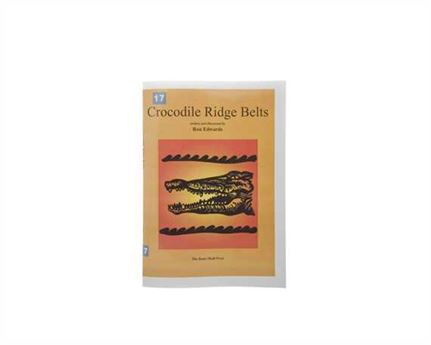 BOOK CROCODILE RIDGE BELTS
