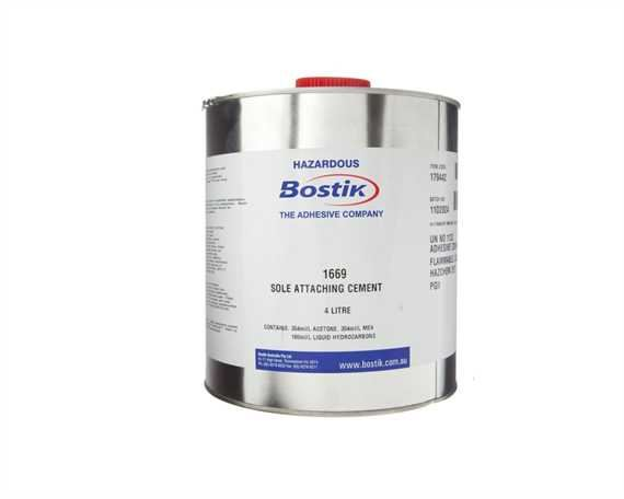 ADHESIVE BOSTIK ATTACHING CEMENT 1669 4LTR