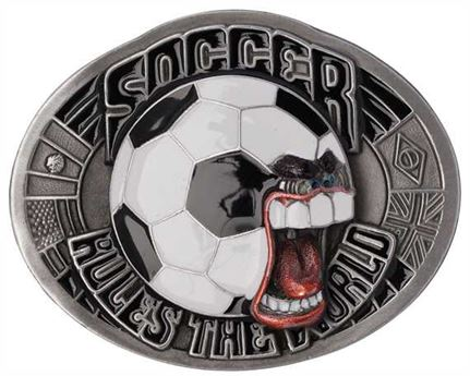 BUCKLE BELT SOCCER RULES THE WORLD