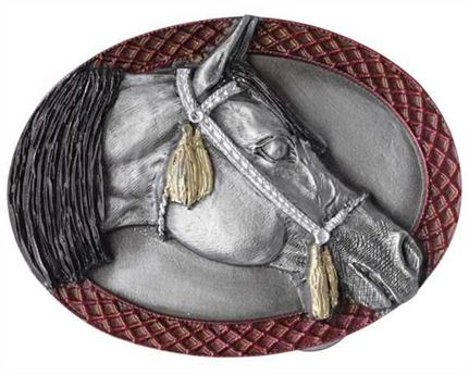 BUCKLE BELT ARABIAN HORSE