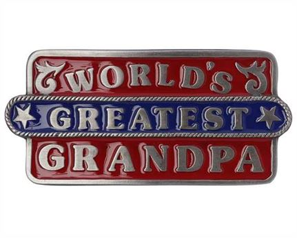 BUCKLE BELT GREATEST GRANDPA