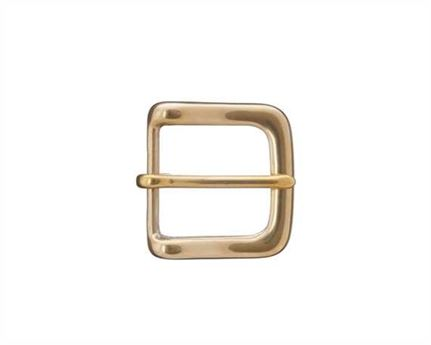 BUCKLE BELT HALF BRASS WEST-END 32MM