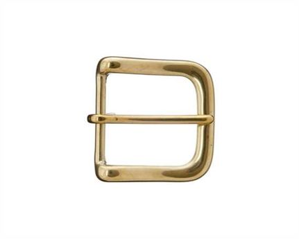 BELT BUCKLE WEST-END BRASS 38MM