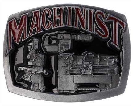 BUCKLE BELT MACHINIST