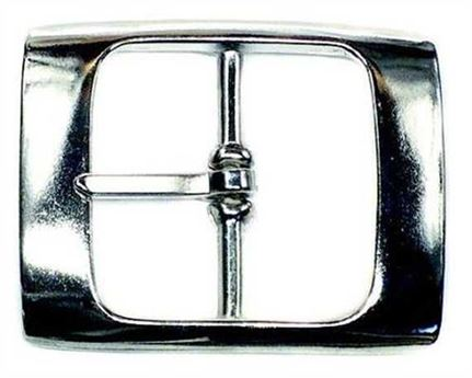 BUCKLE BELT NICKEL PLATE 32MM