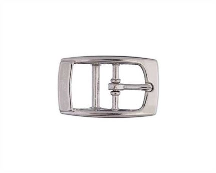 BUCKLE 2-BAR PET NICKEL PLATE 15MM