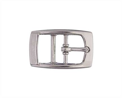 BUCKLE 2-BAR PET NICKEL PLATE 20MM