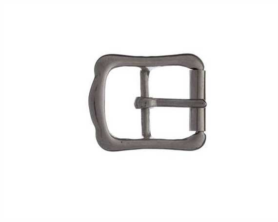 VIC ROLLER BRIDLE BUCKLES NP ON BRASS 23MM