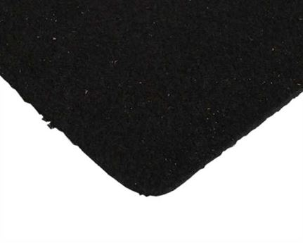 CHAMUDE LINING BLACK 0.7MM X 137CM (PER MT)
