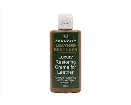 CONNOLLY LUXURY LEATHER RESTORING CREME COGNAC 150ML