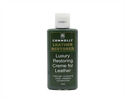 CONNOLLY LUXURY LEATHER RESTORING CREME GREEN 150ML