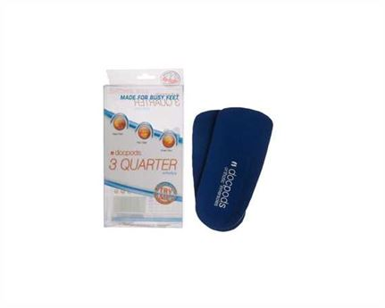 DOCPODS ORTHOTIC INNERSOLE 3 QUARTER LARGE