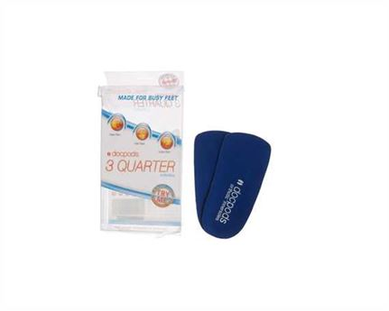 DOCPODS ORTHOTIC INNERSOLE 3 QUARTER SMALL