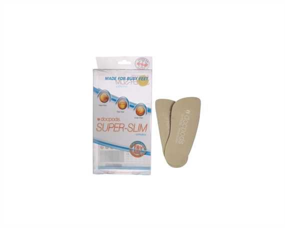 DOCPODS ORTHOTIC INNERSOLE SUPER SLIM SMALL