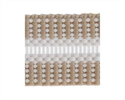 ELASTIC BUCKLE BEIGE STYLE #1686 (PER L/MTR) 10MM
