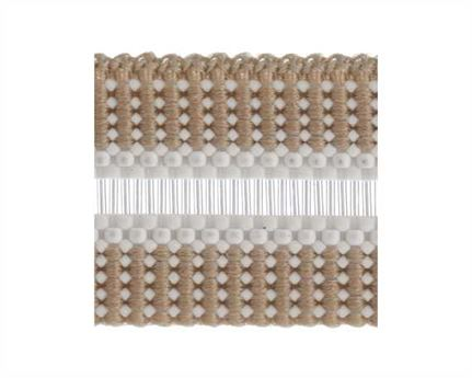 ELASTIC BUCKLE BEIGE STYLE #1686 (PER L/MTR) 12MM