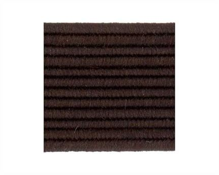 ELASTIC FLAT BROWN (PER L/MTR) 12MM