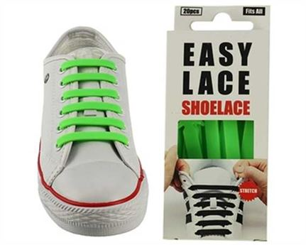 EASY LACE FLAT BOX 20 PCE GREEN