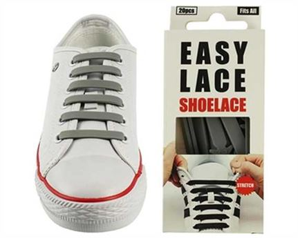EASY LACE FLAT BOX 20 PCE GREY