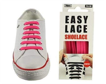 EASY LACE FLAT BOX 20 PCE PINK