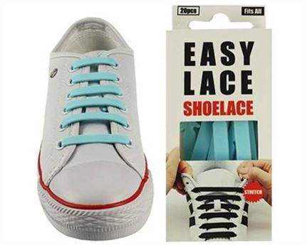EASY LACE FLAT BOX 20 PCE SKY BLUE